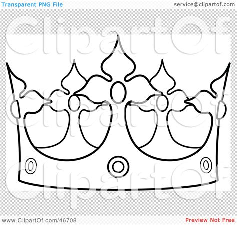 printable glinda crown pattern clipart illustration of a black and white crown outline