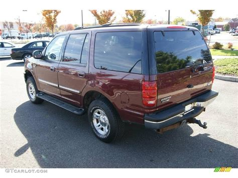 ford expedition red 1999 dark toreador red metallic ford expedition xlt 4x4