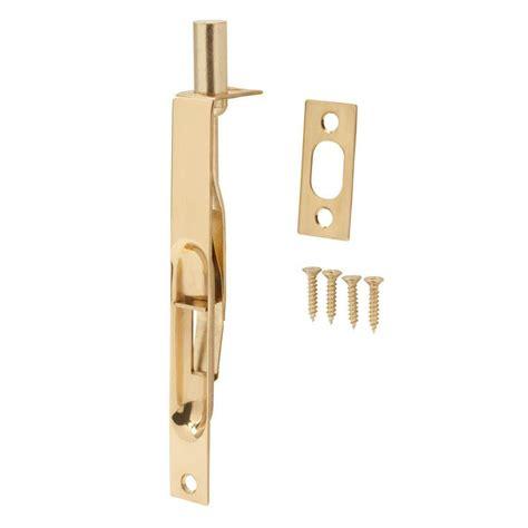 flush bolts for doors national hardware 6 in satin nickel flush bolt mpb1920 6