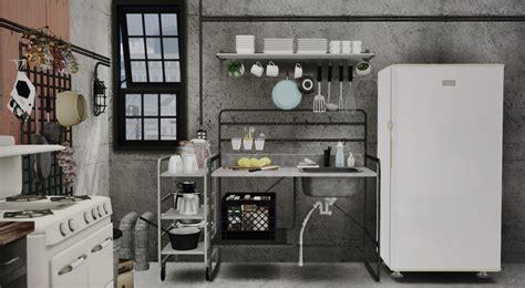 sunnersta ikea marcussims91 sunnersta kitchen dreamteamsims sims 4 cc