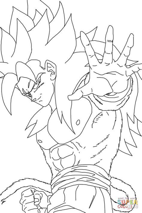 dibujos para colorear de goku super saiyan 4 search dibujo de super saiyan 4 para colorear dibujos para