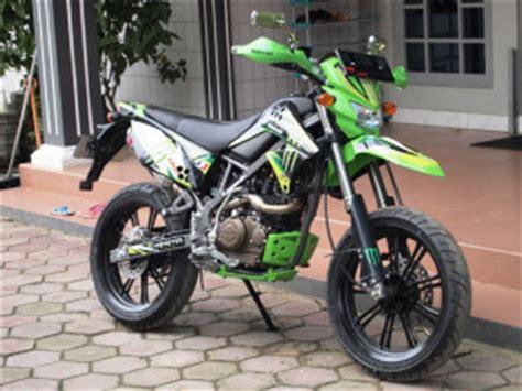 gambar motor kawasaki d tracker 150