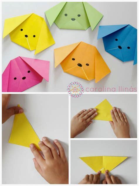 todo manualidades animales de origami artividades perros y gatos origami para ni 241 os