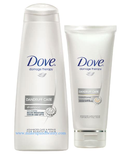 Shoo Dove Dandruff Care dove haircare range in a new avatar