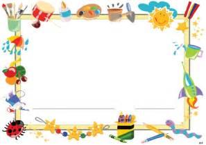 cornici per bambini cornicette la maestra enza didattica e disegni