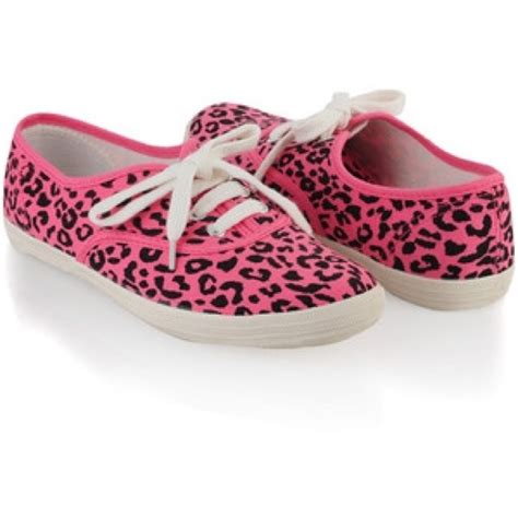 forever 21 pink leopard shoes from hayley s closet on