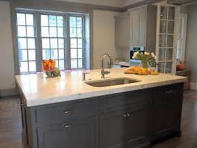 grey kitchen island gray kitchen island contemporary kitchen cassia design