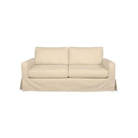 sofab sofas sofab coed fabric slipcovered sofa in solid cream 1377 06