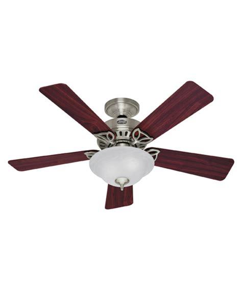 hunter 44 inch ceiling fan hunter fan 28035 auberville 44 inch ceiling fan with light