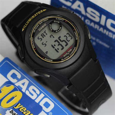 Jam Tangan Casio F 200w 1a Original Bergaransi jam tangan casio digital f 200w 1a original murah
