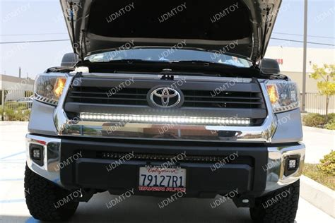 tundra led light bar ijdmtoy 45 quot led light bar for toyota tundra with