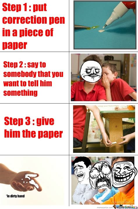 In Class Meme - how to troll in class by publicenemy meme center