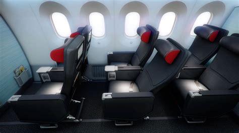 air canada seats air canada premiers new boeing 787 dreamliner cabin interiors