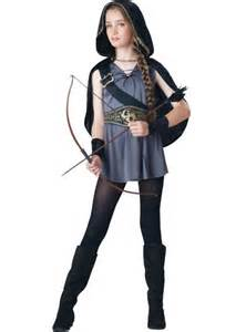 halloween costumes from halloween city girls hooded huntress costume party city canada