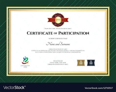 template for certificate of participation in workshop template certificate of participation in workshop template