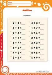 Free Ongkirmeja Belajar Besar Sd Smp Sma soal latihan matematika penjumlahan untuk anak usia dini