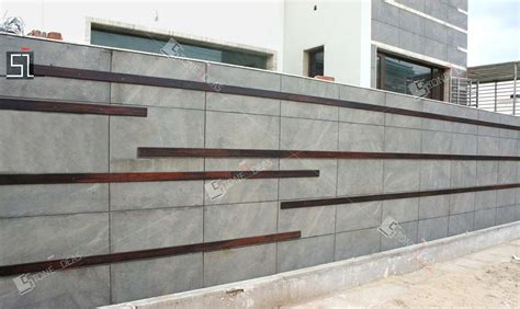 Modern Kitchen Countertops And Backsplash by Natural Stone Wall Tiles Applications At Exterior