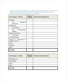 project template 8 project scope templates free pdf word documents