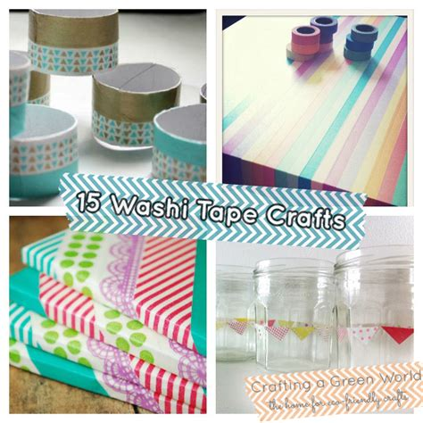 washi crafts 15 washi crafts upcycle in color
