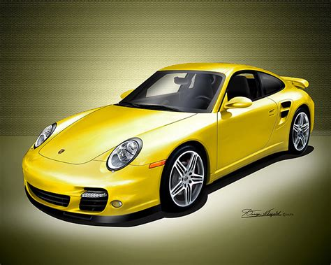 cullen cars images alices yellow porsche  turbo wallpaper  background