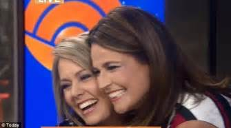 when i savannah due second baby today s dylan dreyer reveals she s pregnant just days