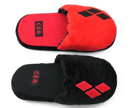 harley quinn slippers harley quinn slippers comic book slippers