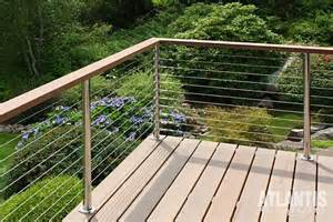 Railing System Atlantis Cable Railing Stainless Styeel Cable Rail System
