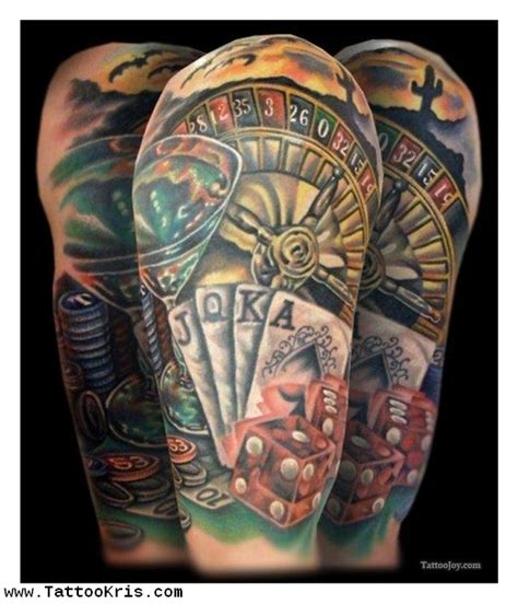 gambler tattoo designs images designs