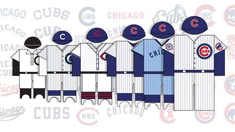 chicago cubs colors colors caps and logos 113 years of cubs uniforms