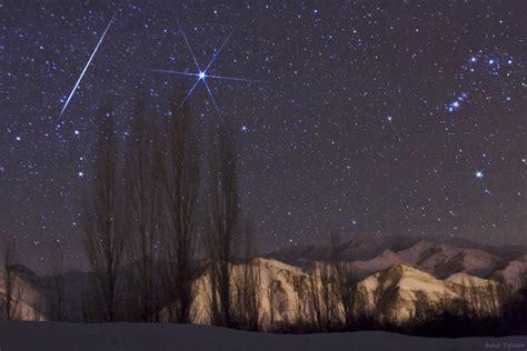 December Meteor Shower by Spaceweather 2009 Geminid Meteor Shower Photo Gallery