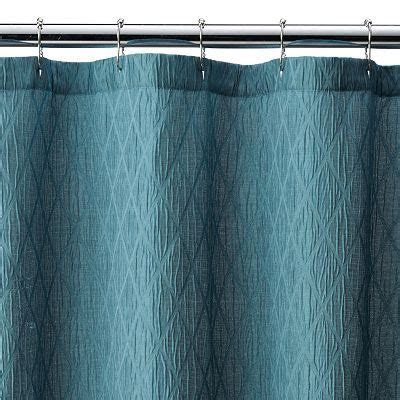 croft and barrow shower curtains croft barrow julia geometric shower curtain everything