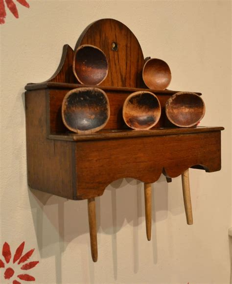 Spoon Racks by Tim Bowen Antiques Carmarthenshire Wales Oak Spoon Rack Sold