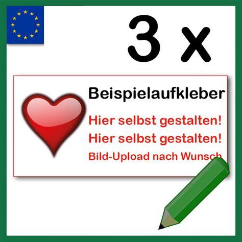 Autoaufkleber Selbst Gestalten Schweiz by Labelzz 3 St 252 Ck Individuell Aufkleber Kennzeichenhalter