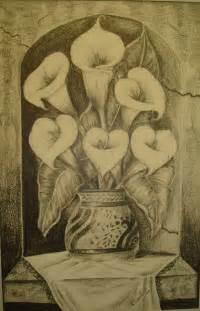 pin flores dibujadas a lapiz imagui ecro on pinterest