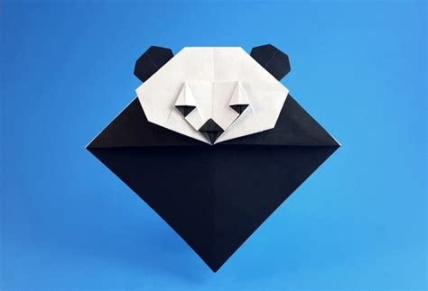 How To Make An Origami Panda - origami panda bookmark food ideas