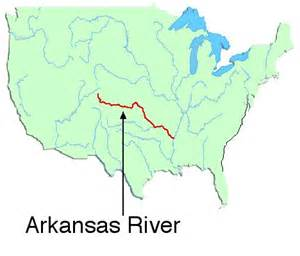 us map with arkansas river map of canadian river in arkansas pictures to pin on