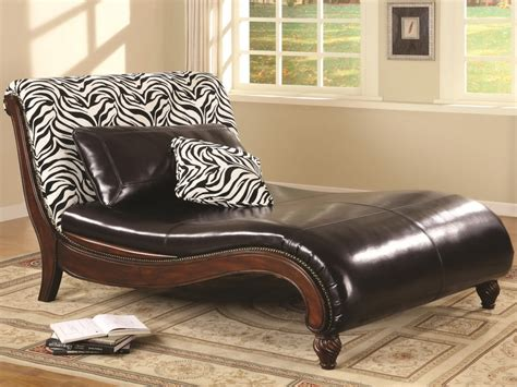 lounge sofa chair furniture zebra print upholstery fabric black leather
