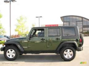 Jeep Green Metallic 2008 Jeep Green Metallic Jeep Wrangler Unlimited Rubicon