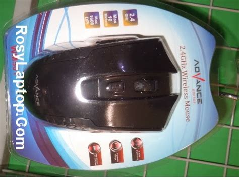 Mouse Pake Bluetooth mouse wireless advance rosy laptop malang