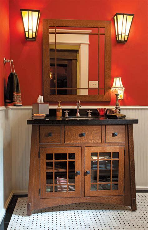 craftsman style bathroom lighting houston lifestyles homes magazine an arts and crafts