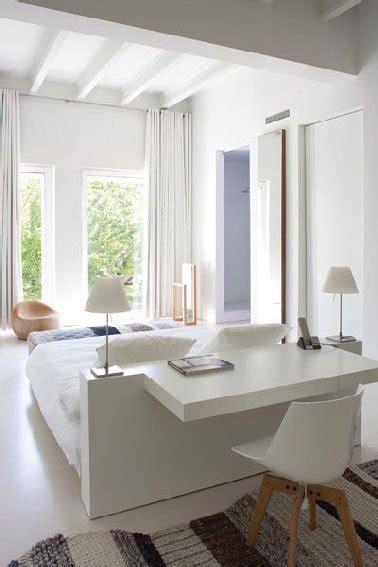 design la t 234 te de lit qui fait aussi bureau
