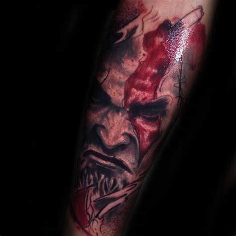 kratos tattoo 30 kratos designs for god of war ink ideas