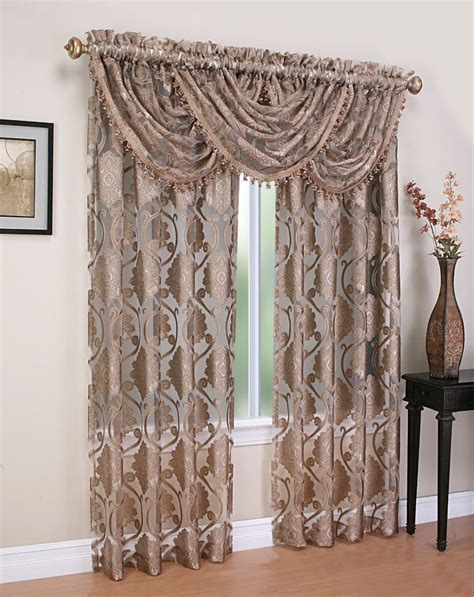 sheer curtain valances luxurious milawi window treatment window curtain organza