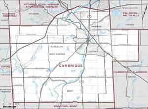 cambridge canada map cambridge maps corner elections canada