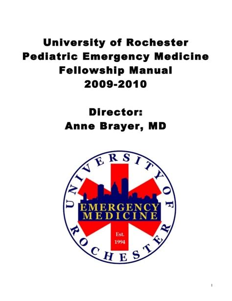 Emergency Medicine Mba Fellowship by Of Maryland Emergency Medicine Fellowship