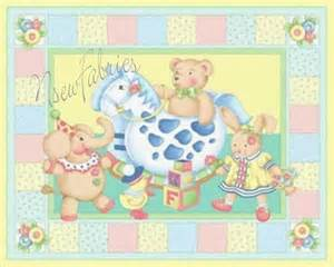 Nursery Upholstery Fabric Mary Engelbreit Fabric Quilt Panel Baby Toy Cuties Xlg