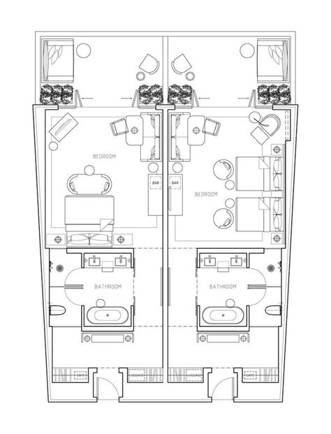 hotel suite floor plans 1000 ideas about hotel floor plan on pinterest floor