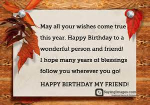 birthday quotes wishes for best friend sayingimages