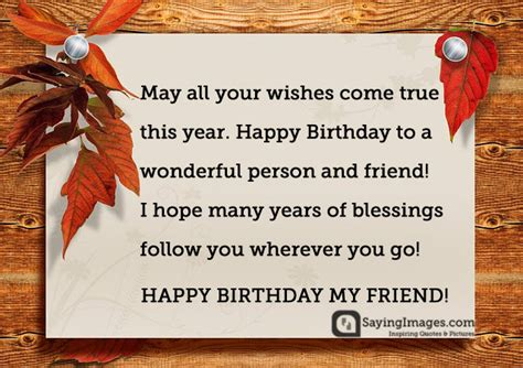 Happy Birthday Wishes To A Friend 20 Birthday Wishes For A Friend Pin And Share