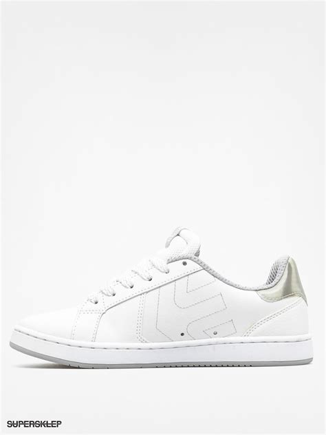 white and silver ls buty etnies fader ls wmn white silver